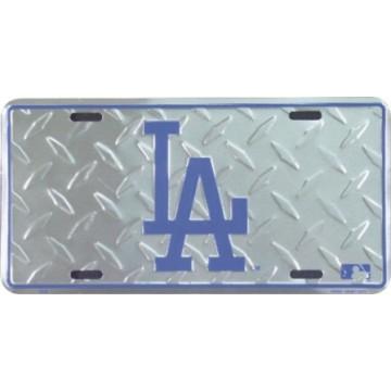 Los Angeles Dodgers Diamond License Plate