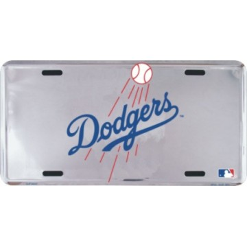 Los Angeles Dodgers Anodized License Plate
