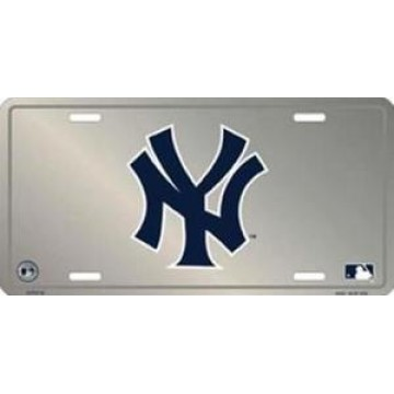 New York Yankees Anodized License Plate