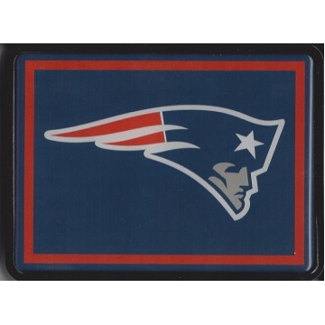 New England Patriots Plastic Logo Hitch Cover