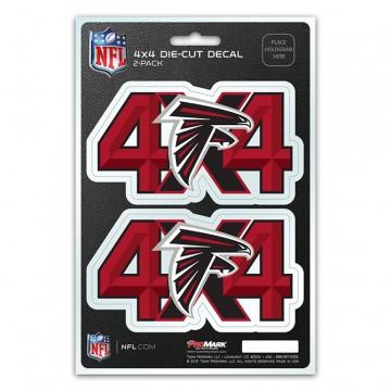 Atlanta Falcons 4x4 Decal Pack