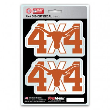 Texas Longhorns 4x4 Decal Pack
