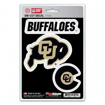 Colorado Buffaloes Team Decal Set