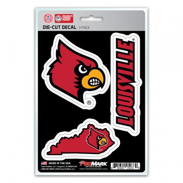 Louisville Cardinals Team Decal Set