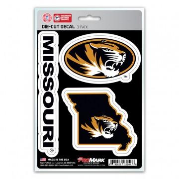 Missouri Tigers Team Decal Set