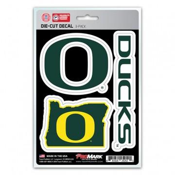 Oregon Ducks Team Decal Set