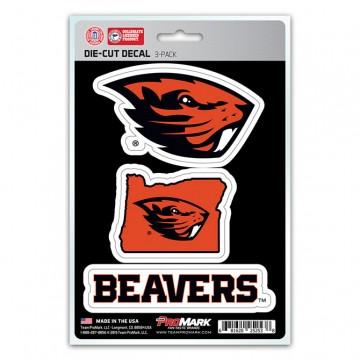 Oregon State Beavers Team Decal Set