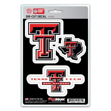 Texas Tech Red Raiders Team Decal Set