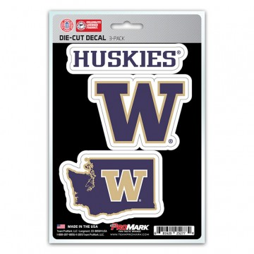 Washington Huskies Team Decal Set