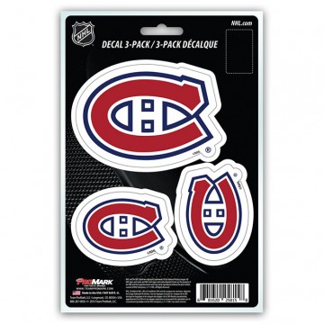Montreal Canadiens Team Decal Set