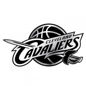 Cleveland Cavaliers NBA Chrome Auto Emblem