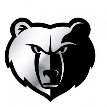 Memphis Grizzlies NBA Chrome Auto Emblem