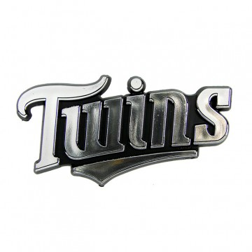 Minnesota Twins MLB Chrome Auto Emblem