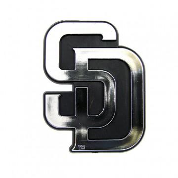 San Diego Padres MLB Chrome Auto Emblem