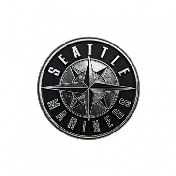 Seattle Mariners MLB Chrome Auto Emblem