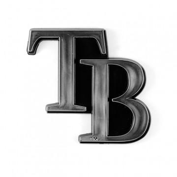 Tampa Bay Rays MLB Chrome Auto Emblem