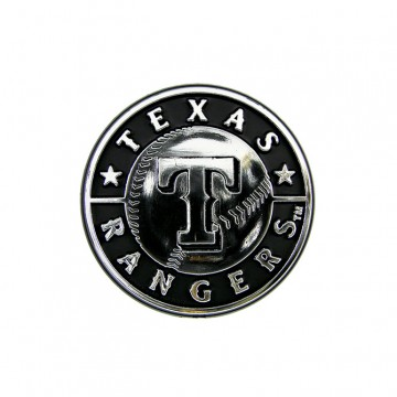Texas Rangers MLB Chrome Auto Emblem