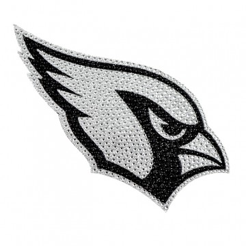 Arizona Cardinals Diamond Bling Auto Emblem