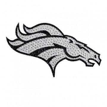 Denver Broncos Diamond Bling Auto Emblem