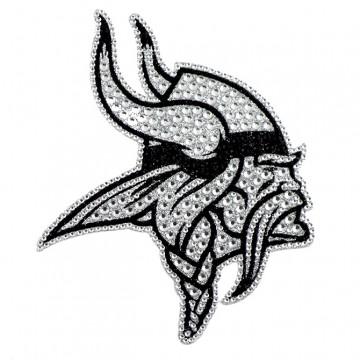 Minnesota Vikings Diamond Bling Auto Emblem