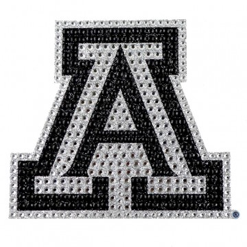 Arizona Wildcats Diamond Bling Auto Emblem
