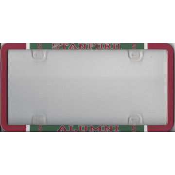 Stanford Plastic Alumni License Plate Frame