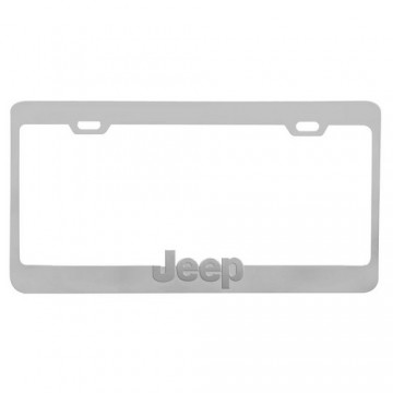 Jeep Chrome License Plate Frame