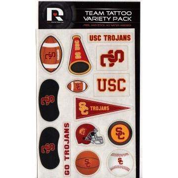 USC Trojans Variety Pack Tattoo Set