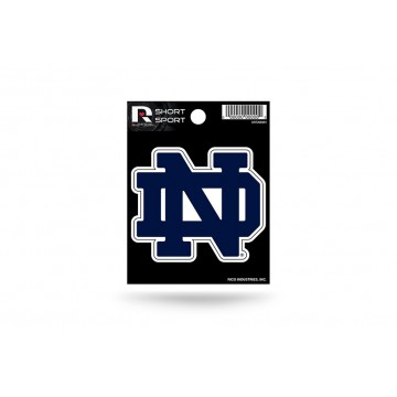 Notre Dame Fighting Irish Short Sport Decal