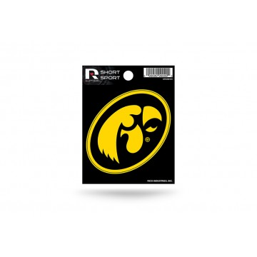 Iowa Hawkeyes Short Sport Decal