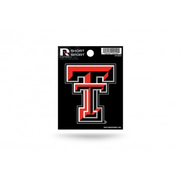 Texas Tech Red Raiders Short Sport Decal