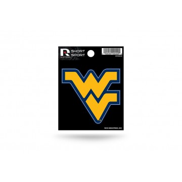 West Virginia Mountaineers Short Sport Decal