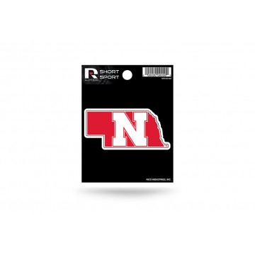 Nebraska Cornhuskers Short Sport Decal