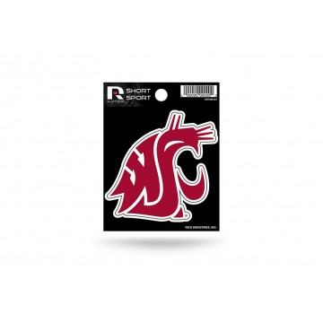 Washington State Cougars Short Sport Decal