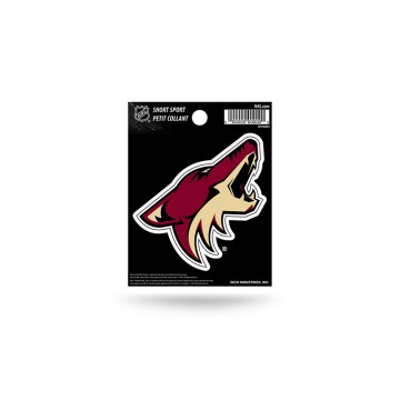 Arizona Coyotes Short Sport Decal
