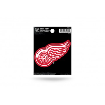 Detroit Red Wings Short Sport Decal