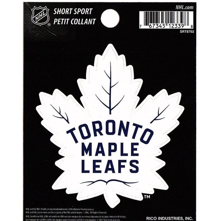 Toronto Maple Leafs Short Sport Decal