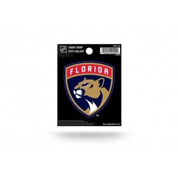 Florida Panthers Short Sport Decal