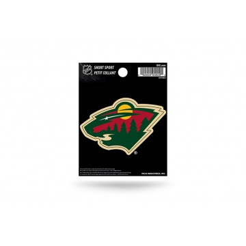 Minnesota Wild Short Sport Decal