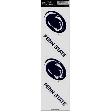 Penn State Nittany Lions Quad Decal Set