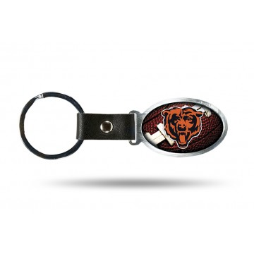 Chicago Bears Accent Metal Key Chain