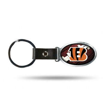 Cincinnati Bengals Accent Metal Key Chain