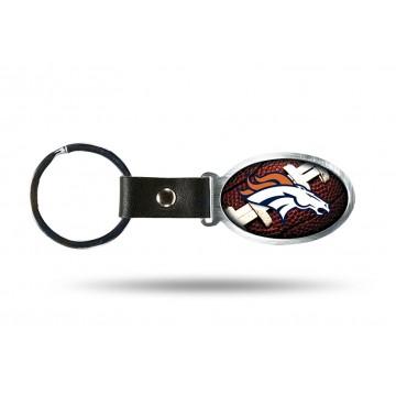 Denver Broncos Accent Metal Key Chain
