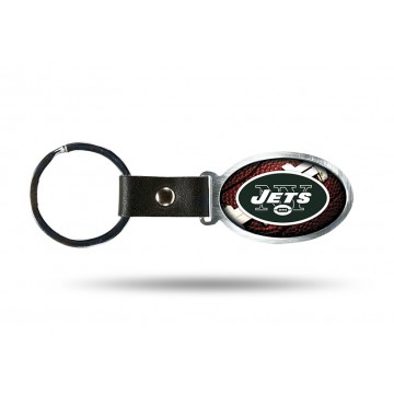 New York Jets Accent Metal Key Chain