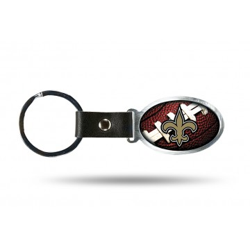 New Orleans Saints Accent Metal Key Chain