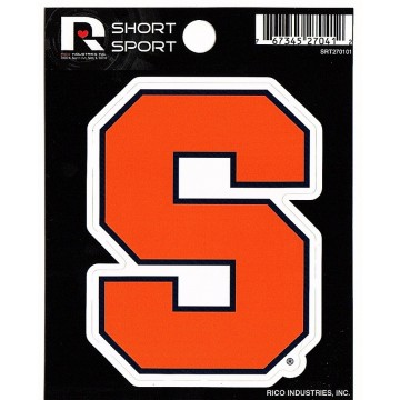 Syracuse Orange Short Sport Decal