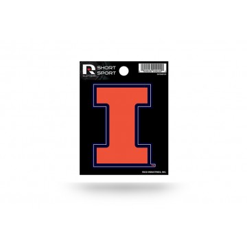 Illinois Fighting Illini Short Sport Decal