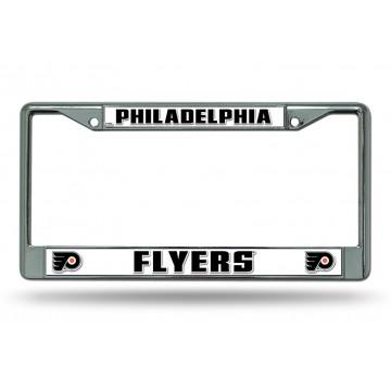 Philadelphia Flyers Chrome License Plate Frame
