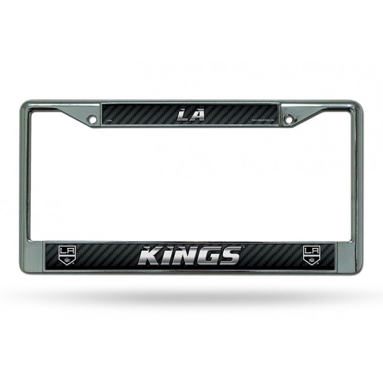 Los Angeles LA Kings Chrome License Plate Frame