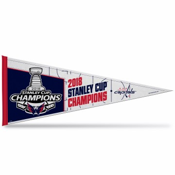 Washington Capitals 2018 Champs Pennant